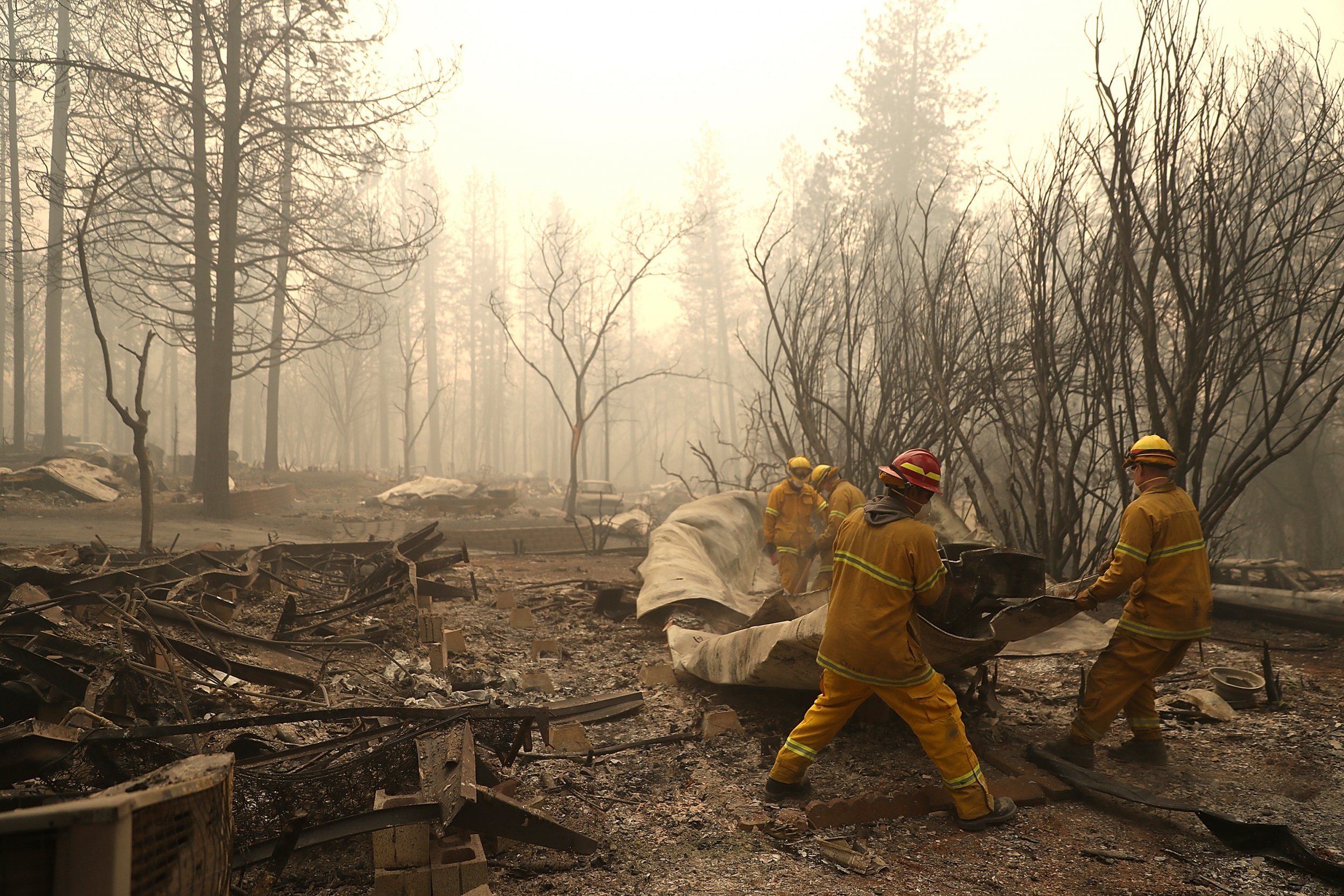 California Wildfires Update: Toll Rises, Hundreds Reported ... on