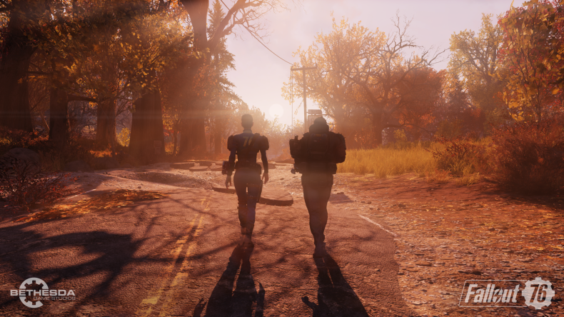 Fallout 76 wilderness together