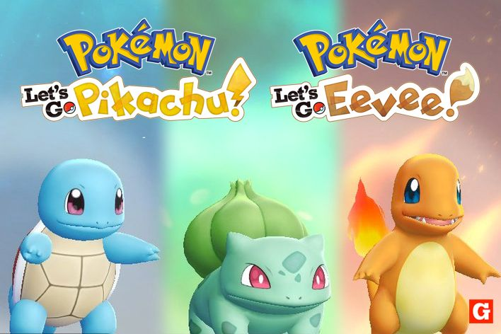 Pokemon Let S Go How To Catch Bulbasaur Charmander And Squirtle