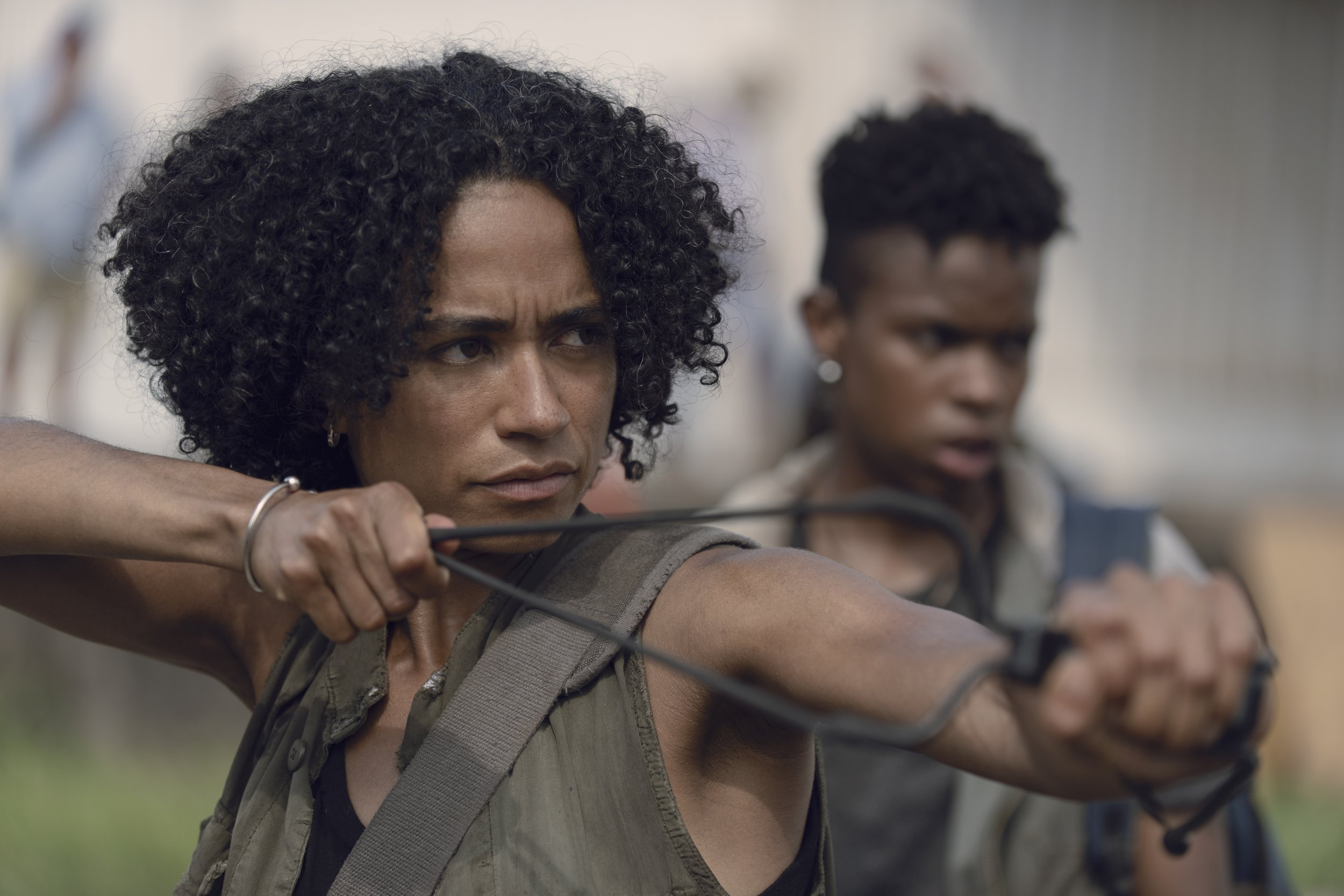 Walking Dead Connie and Kelly 9x07