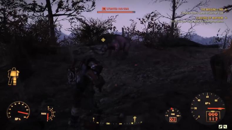 Fallout 76 Yao Guai