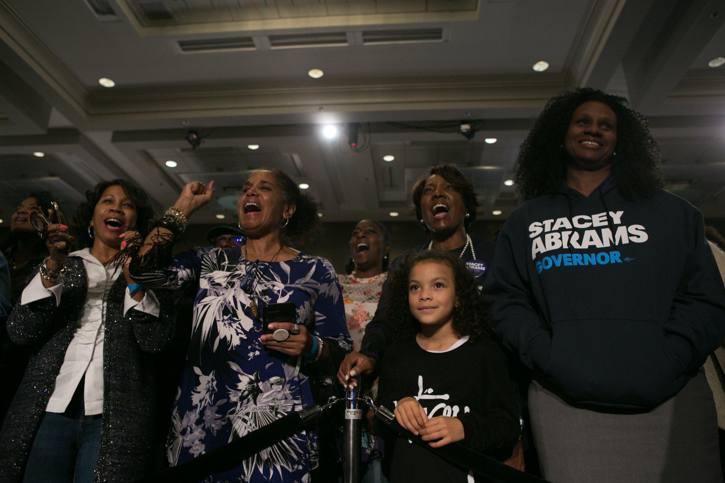 stacey abrams, georgia, governor, race, state senator