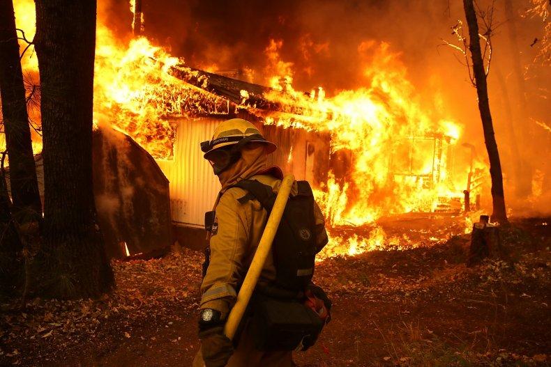 Cal Fire firefighter