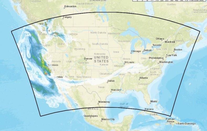 smoke map california wildfire