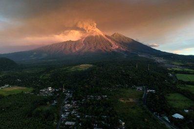 fuego volcano november