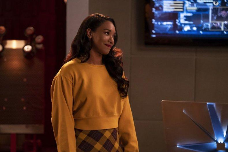 iris the flash 100th episode