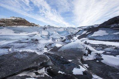 Sólhiemajökull glacier iceland