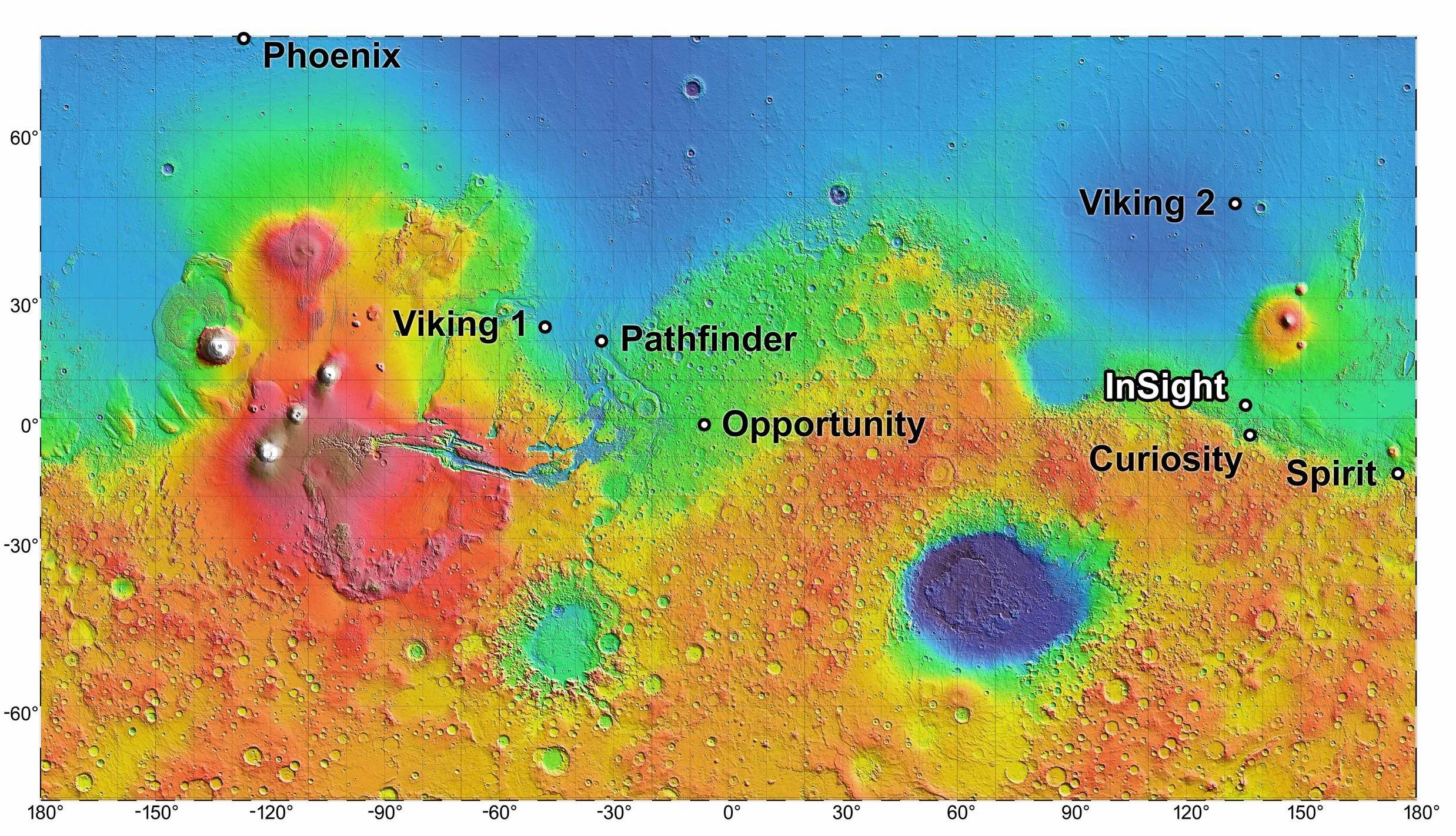 NASA InSight Landing