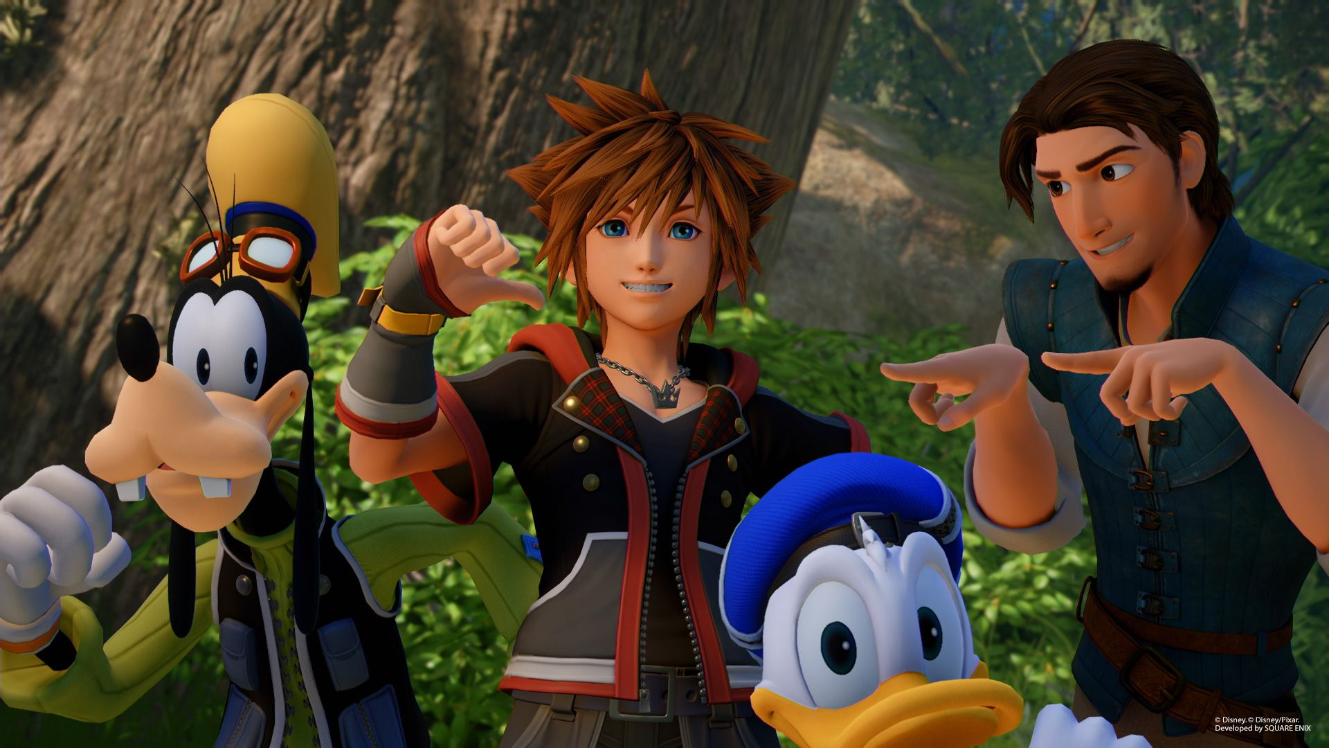 Kingdom Hearts 3 Tangled