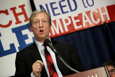 tom steyer, 2020, election, impeachment, donald trump