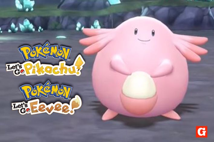 pokemon lets go chansey level guide