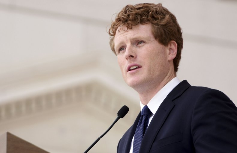 Joe Kennedy III, legal weed