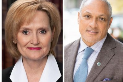 Cindy Hyde-Smith and Mike Espy