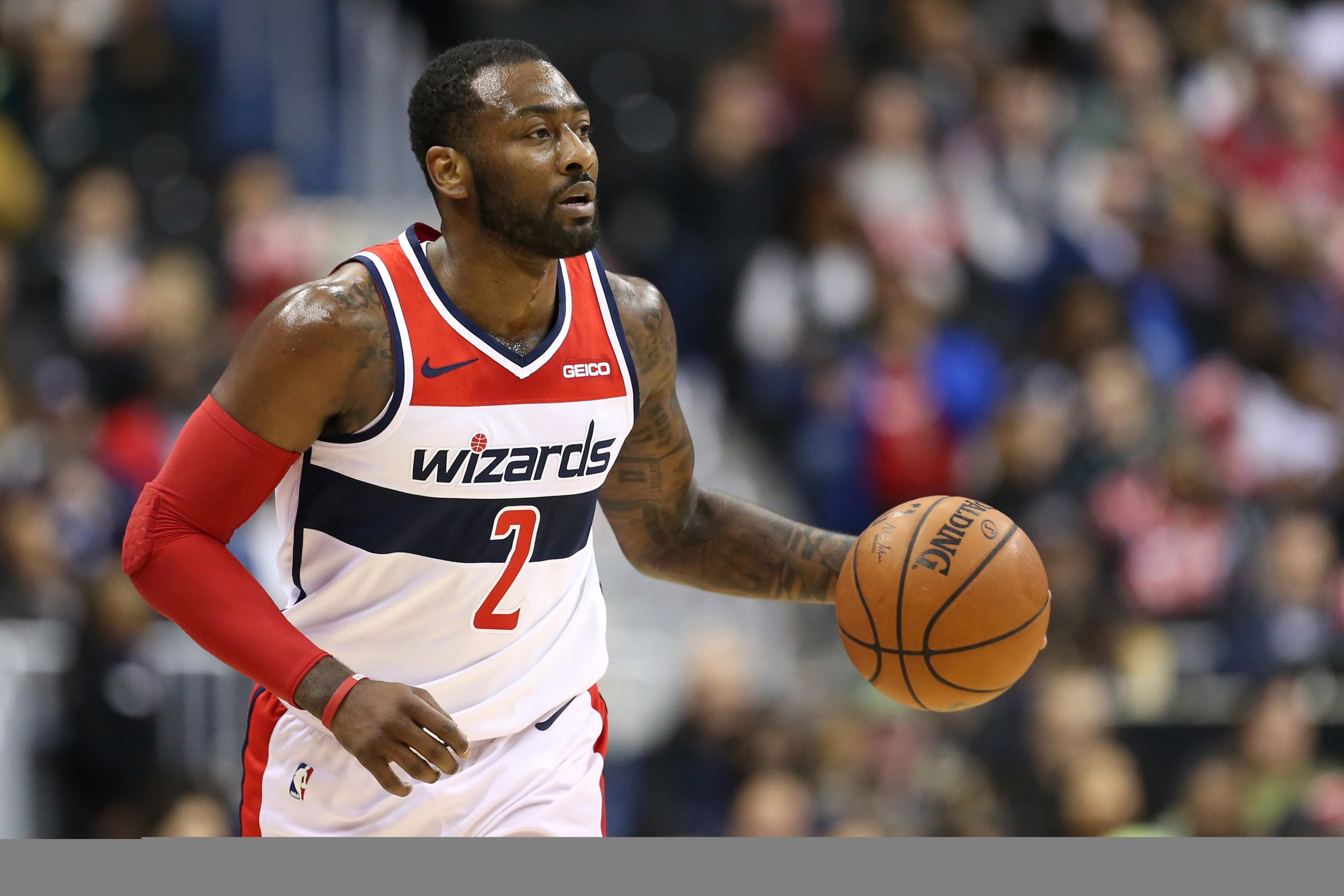 John Wall Trade: All-Star 'Loves Being a Wizard,' Wants to End Career ...