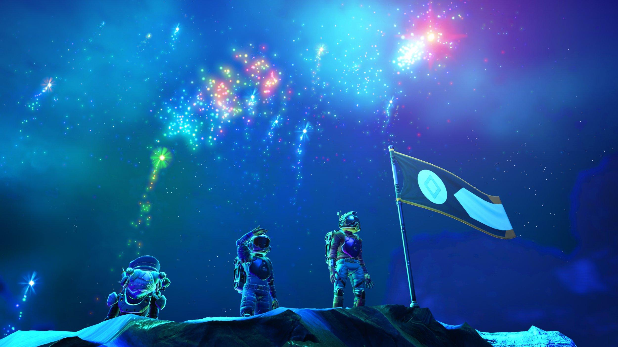 no mans sky 175 visions fireworks