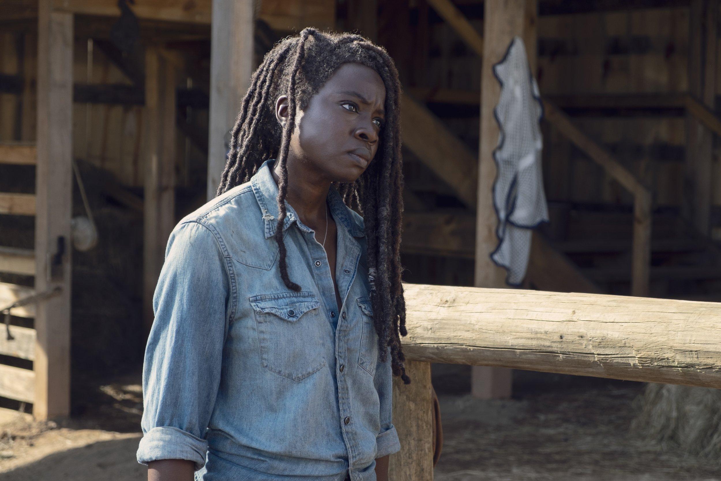 Walking Dead Michonne 9x08