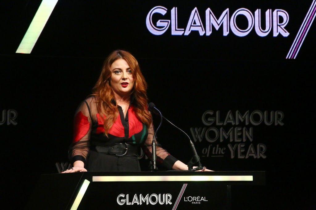 Glamour Mag editor Samantha Barry merlin_146766279_ed0af1a0-b42f-4ca1-877b-46fd9cd28d49-jumbo