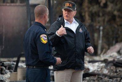 trump wildfires
