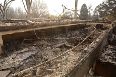 Paradise Elementary School destroyed by Camp Fire Enterprise Record photo