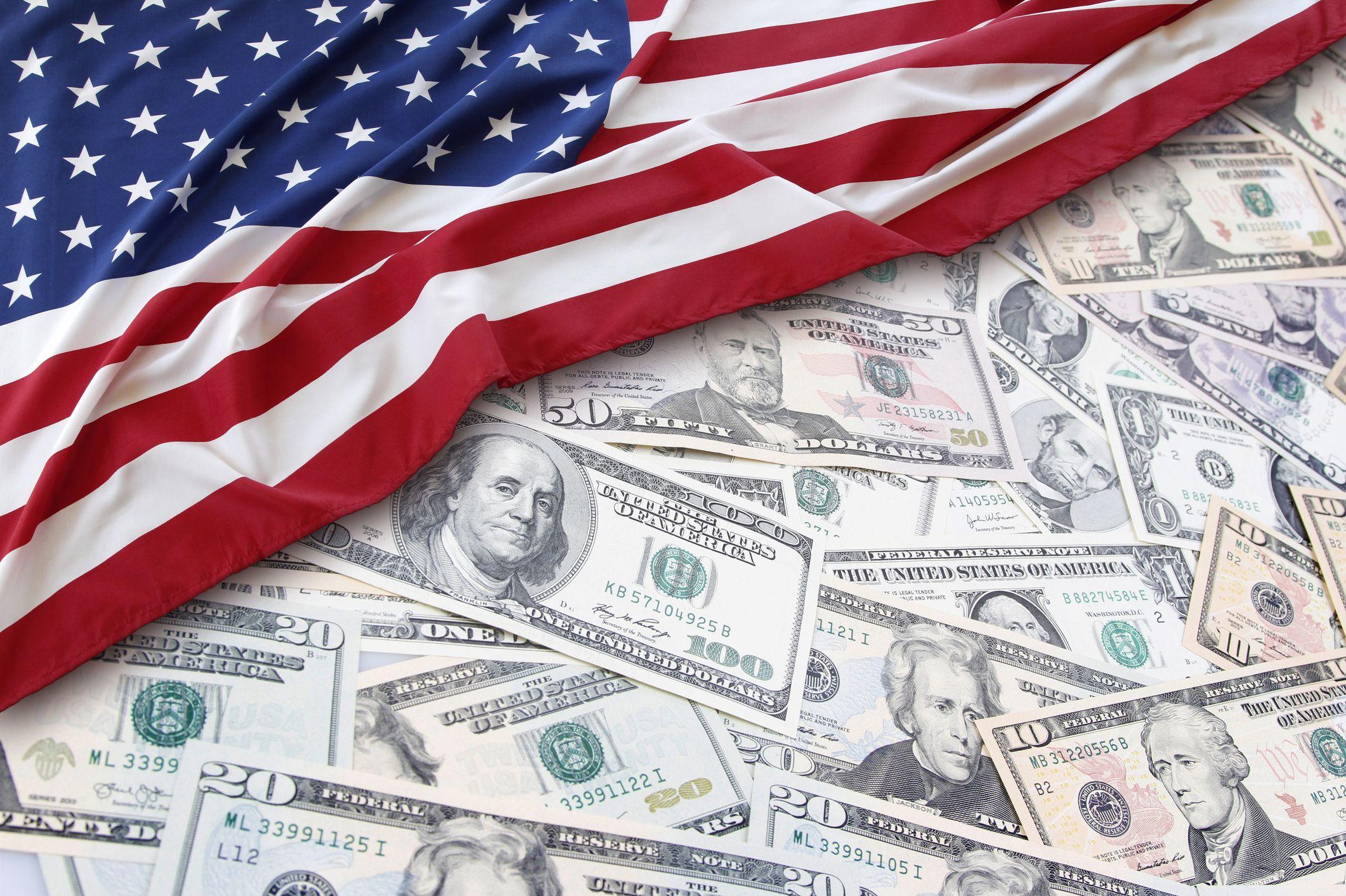 money-flag-stock