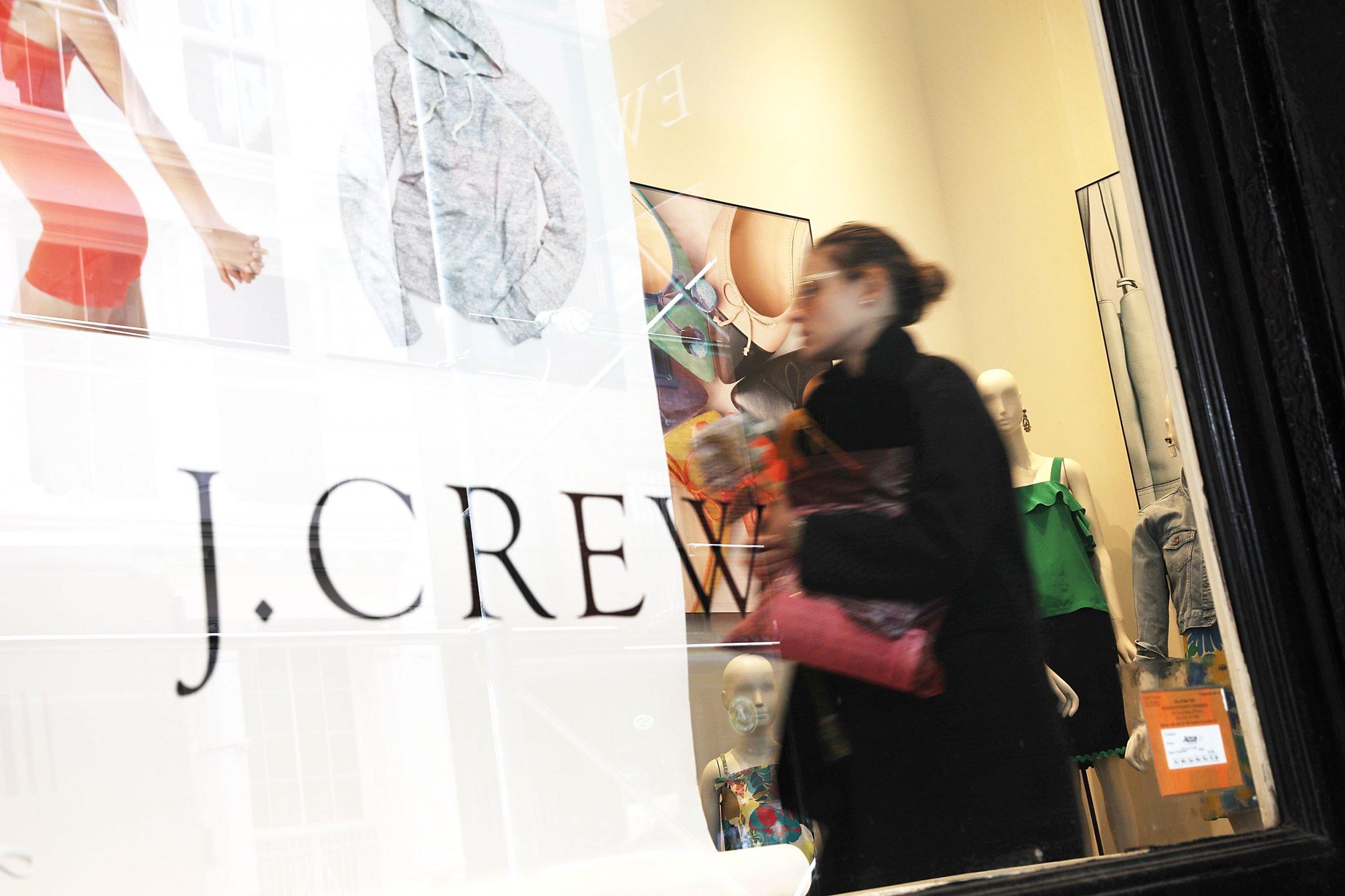 j crew store front