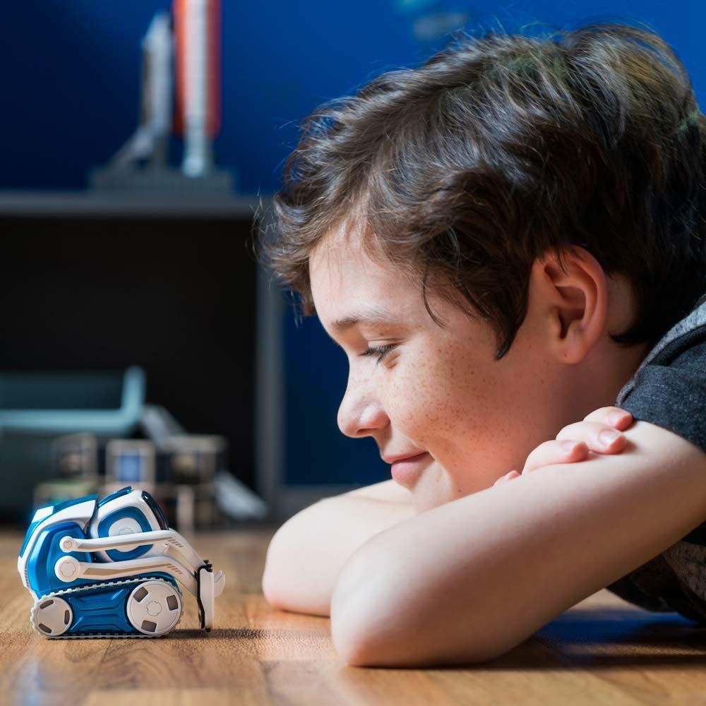 7 Cyber Monday - Anki Cozmo Limited Edition, Interstellar Blue, A Fun, Educational Toy Robot for Kids