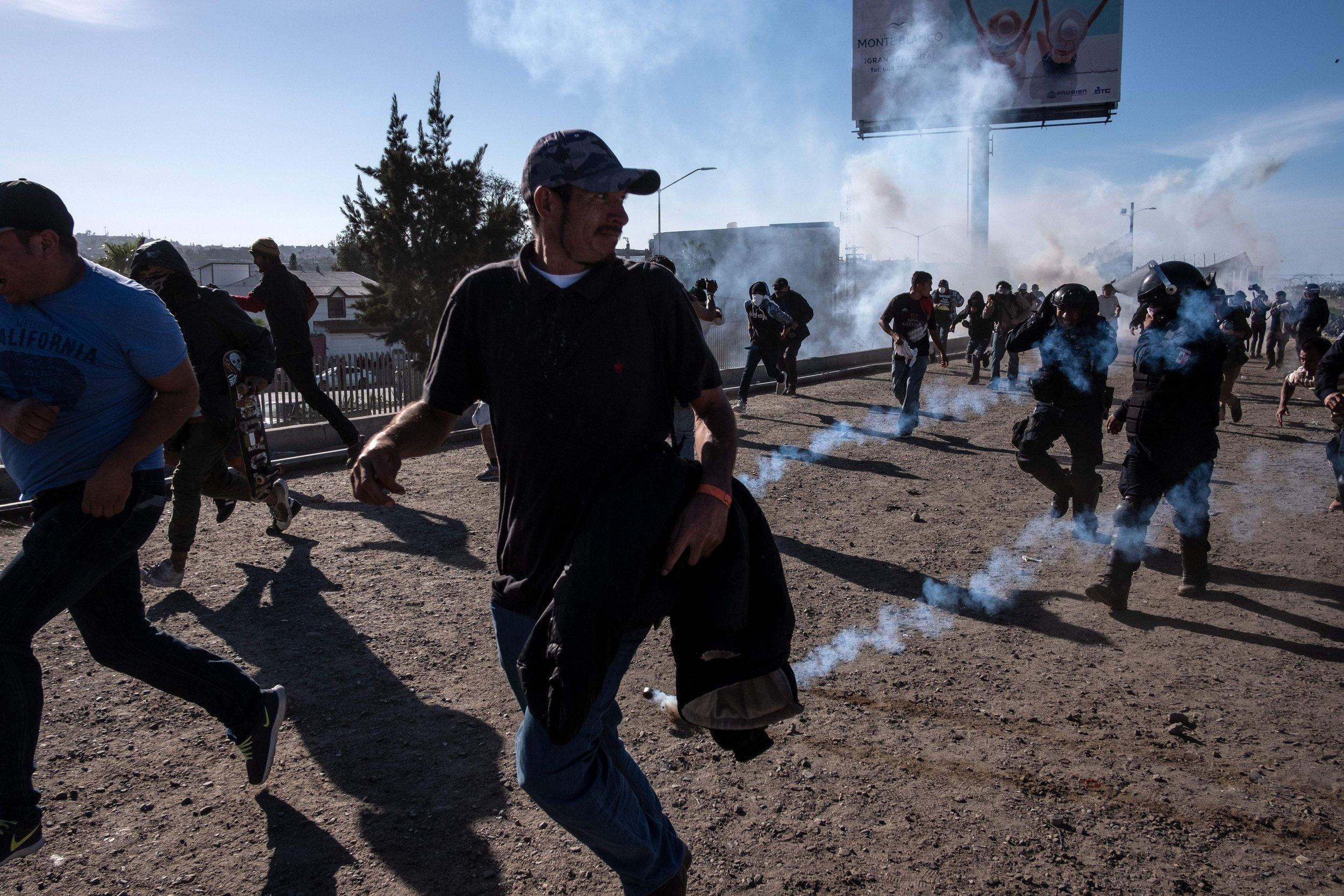 border, migrants, tear, gas, tomi lahren, fox news
