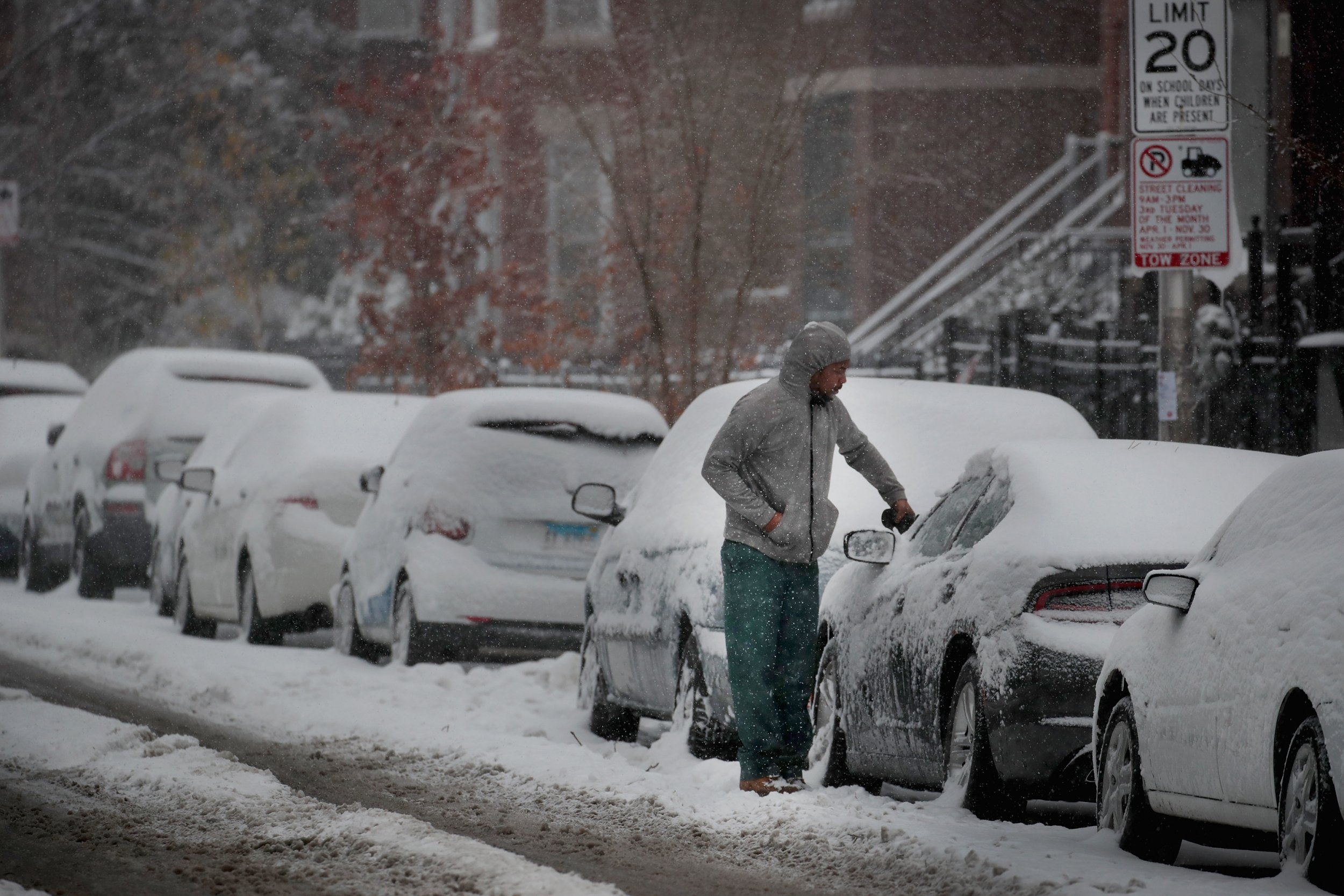 winter storm bruce in chicago