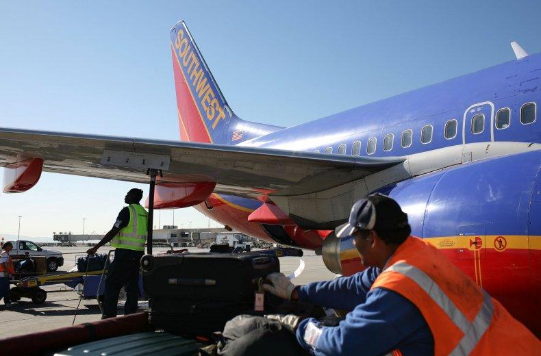 southwest baggage handler