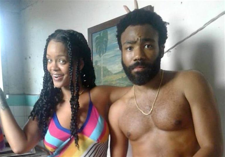 what is guava island rihanna donald glover
