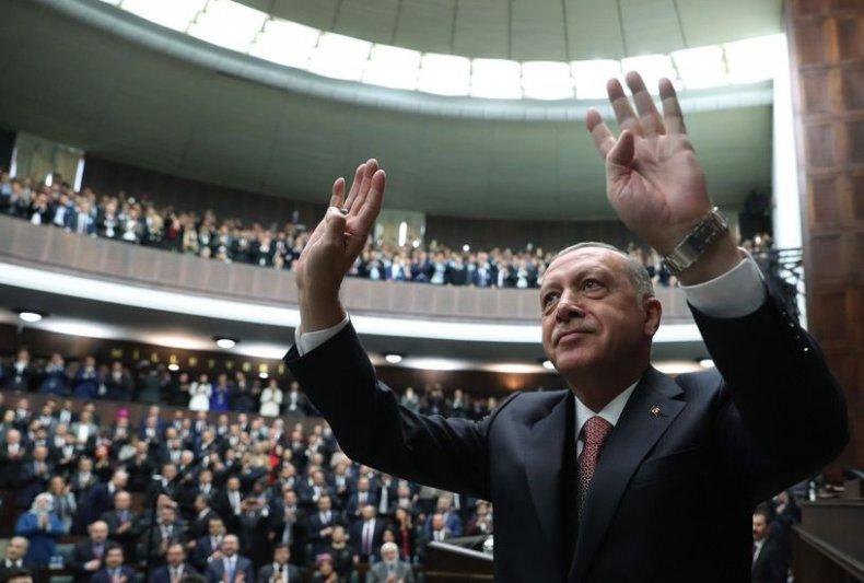 TurkeyErdoganAKPartyMeeting
