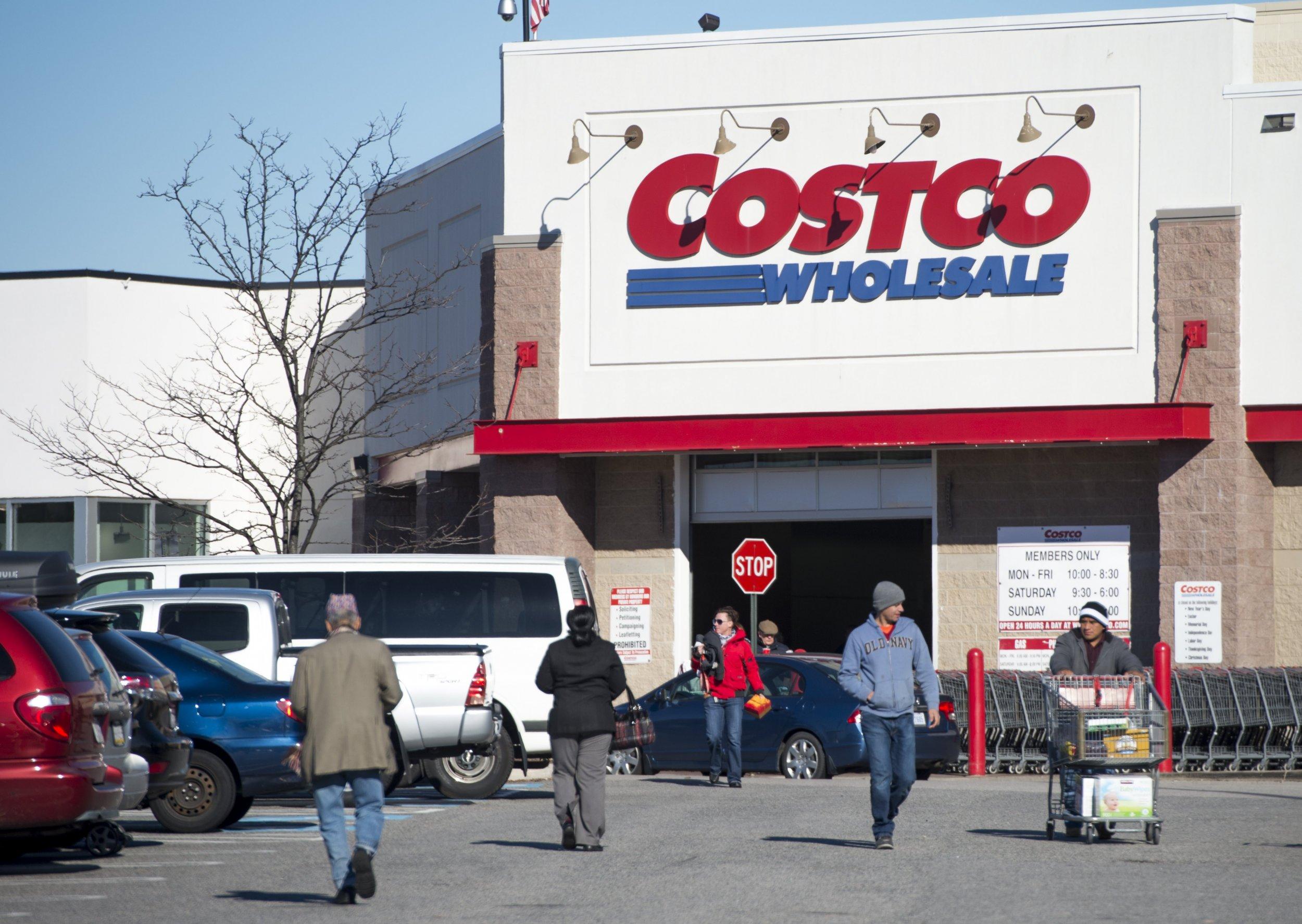 costco outside store