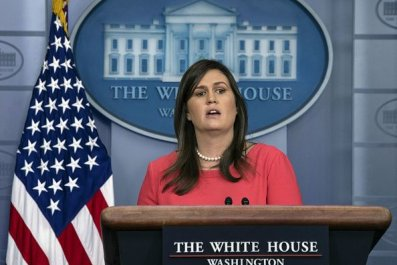 sarah huckabee sanders, climate, change, report, radical,