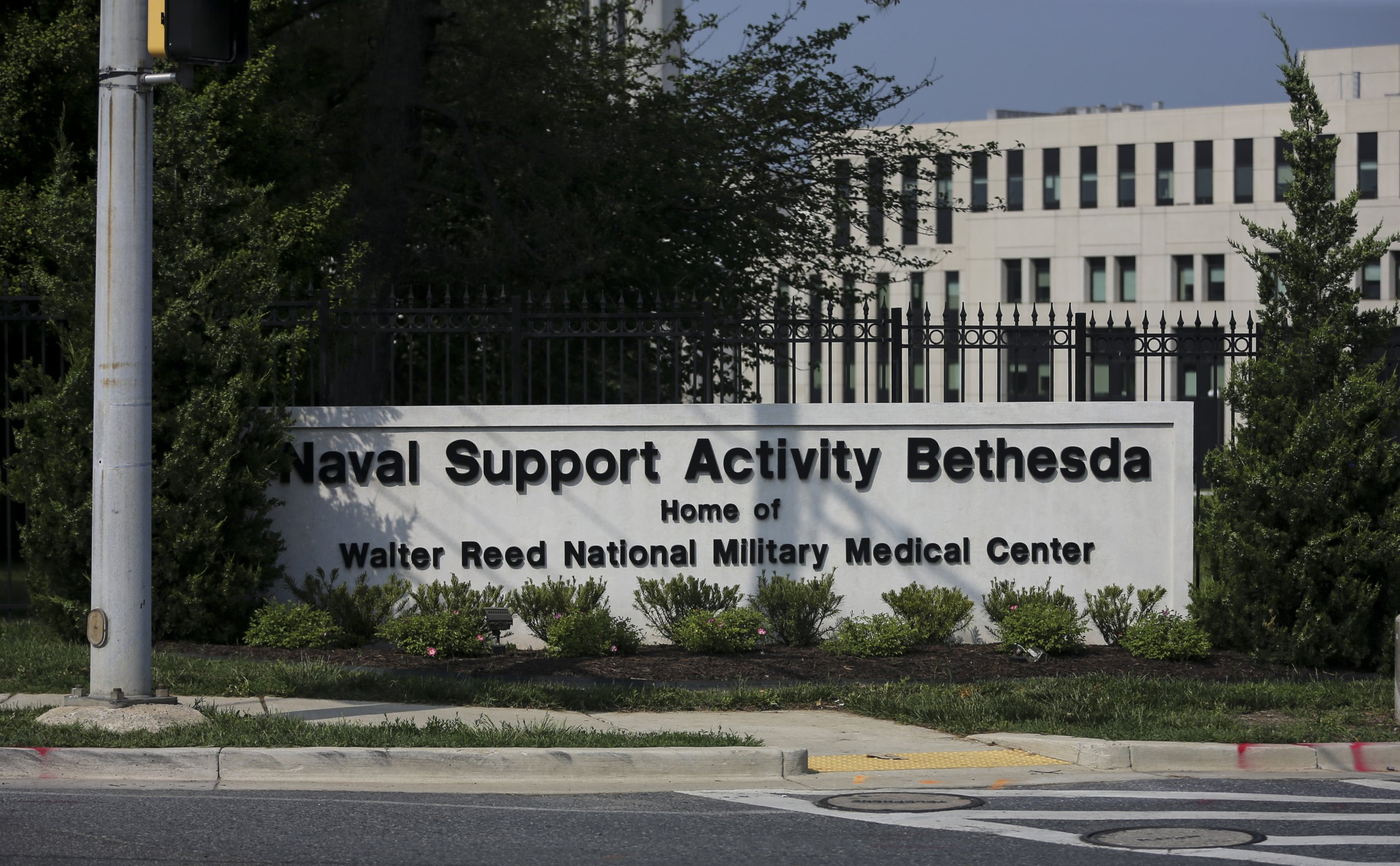 walter reed national military medical center shooter