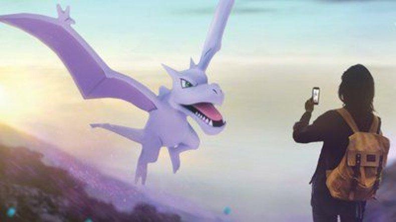 pokemon go aerodactyl adventure week