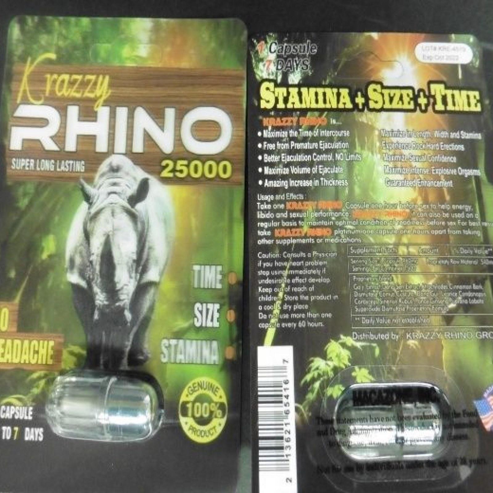 FDA Warns Men: 'Dangerous' Rhino Sexual Enhancement Products Cause