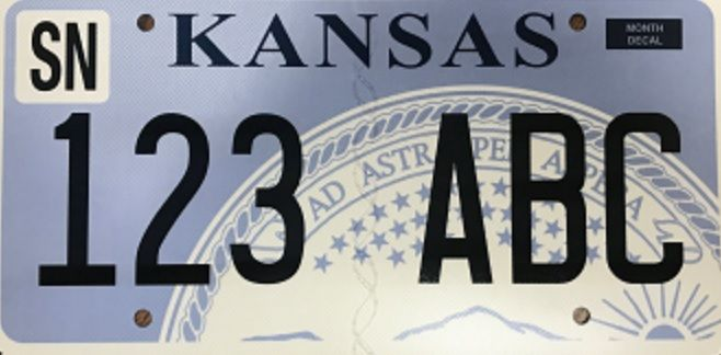 kansas recalls hundreds of license plates after discovering they