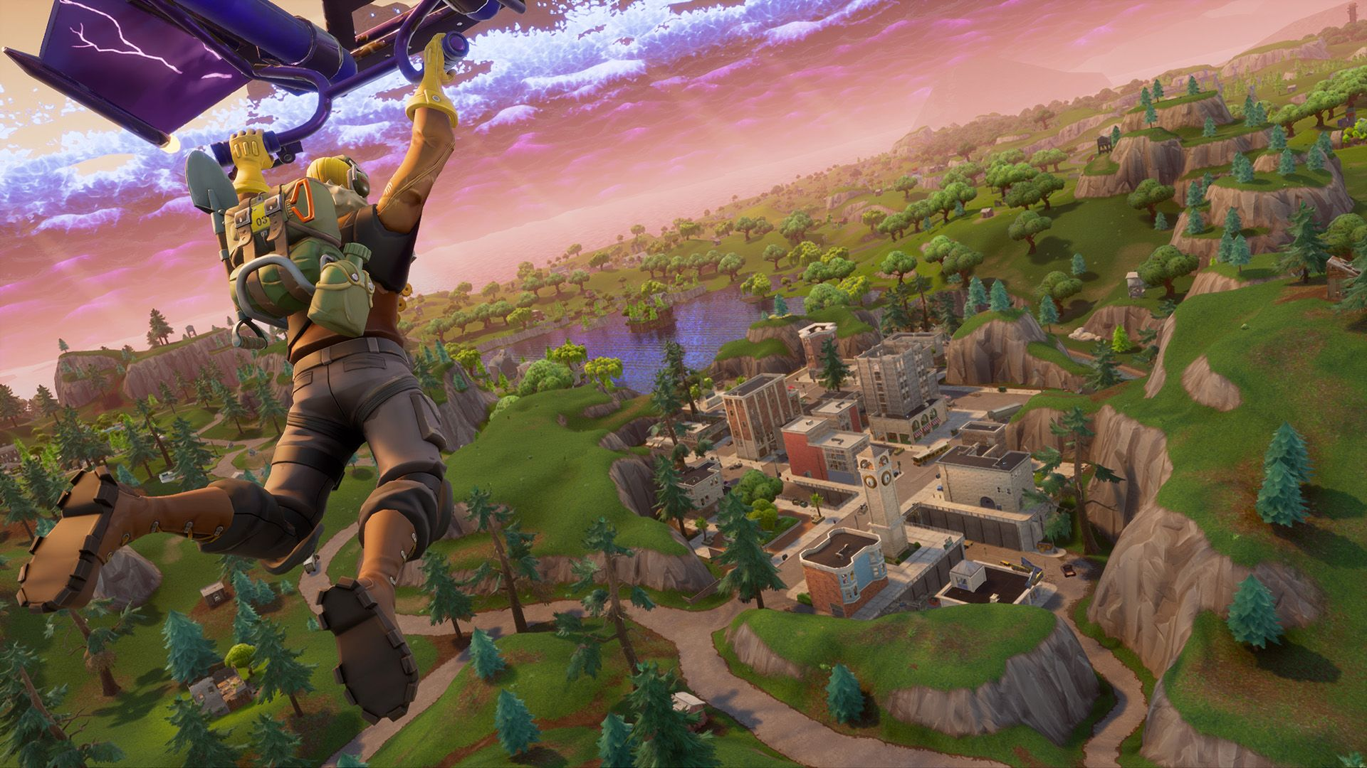 Fortnite Leak Suggests Tilted Towers May Finally Get Destroyed In