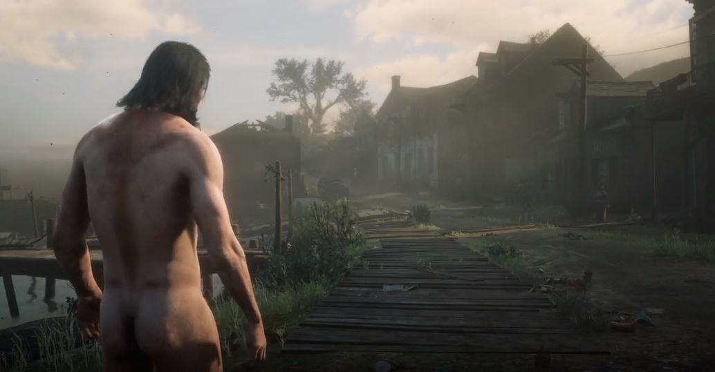 Nudity in red dead redemption pics 35