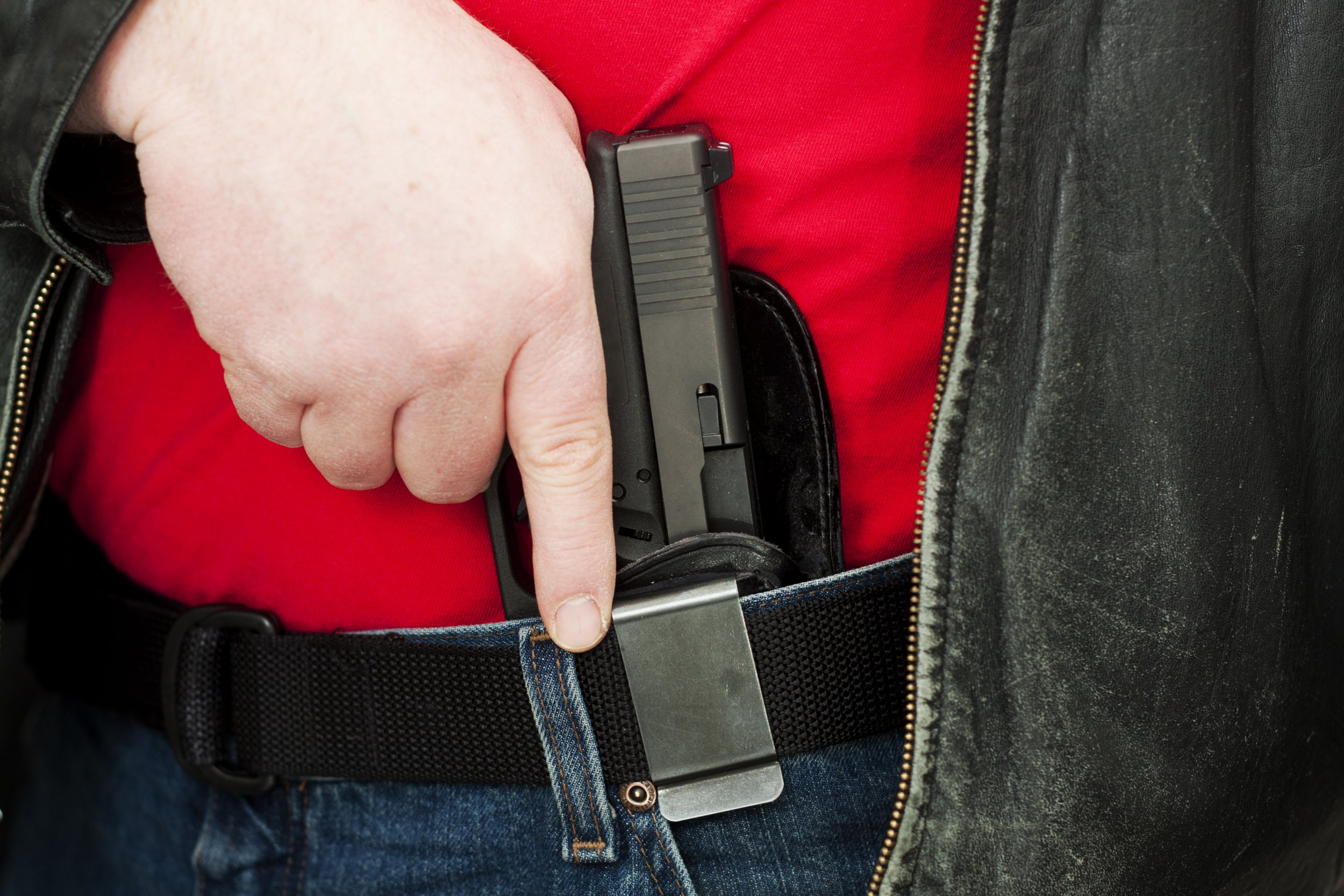 Concealed Carry Firearm Drawn