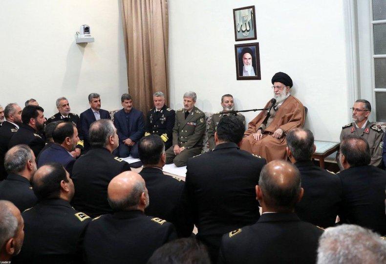 IranKhameneiNavyMeeting