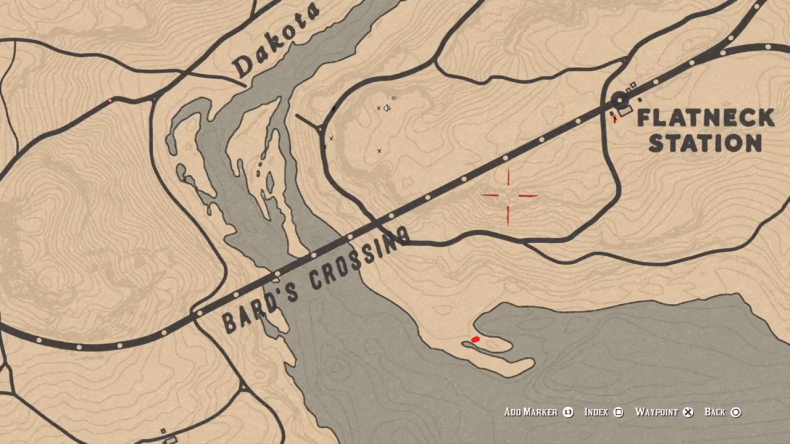 Red Dead Online Bards Crossing Location 4