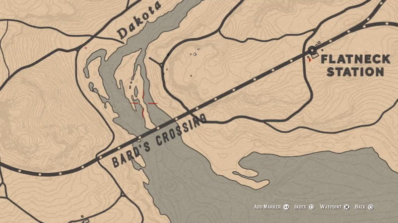 Red Dead Online Bards Crossing Location 1