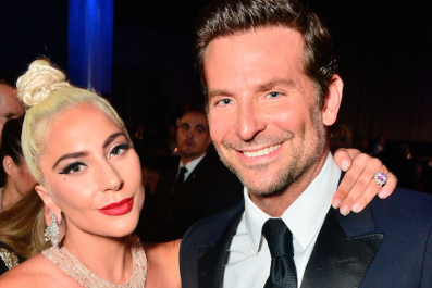 Lady Gaga Cries Honoring Bradley Cooper