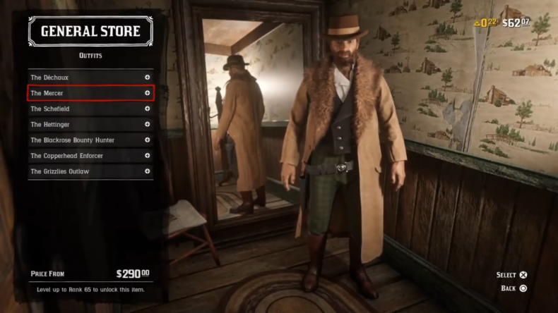 Red Dead Online clothes