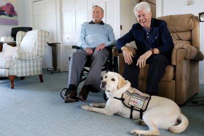 George H.W. Bush and Sully H.W. Bush