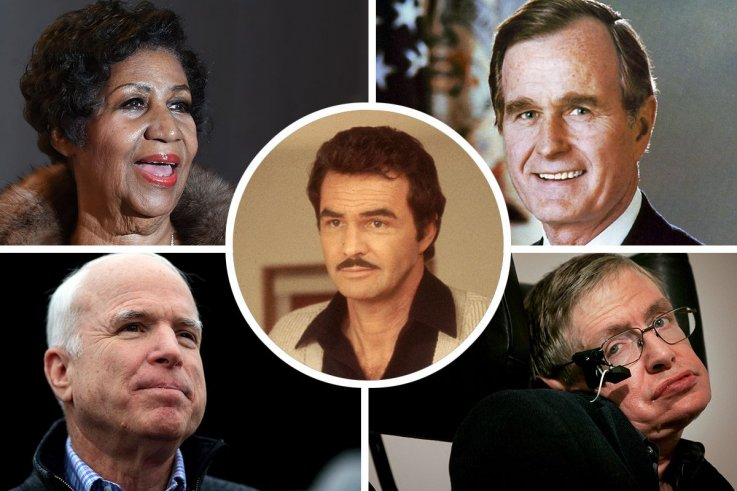 8a518490 Celebrities We Lost in 2018 Newsweek