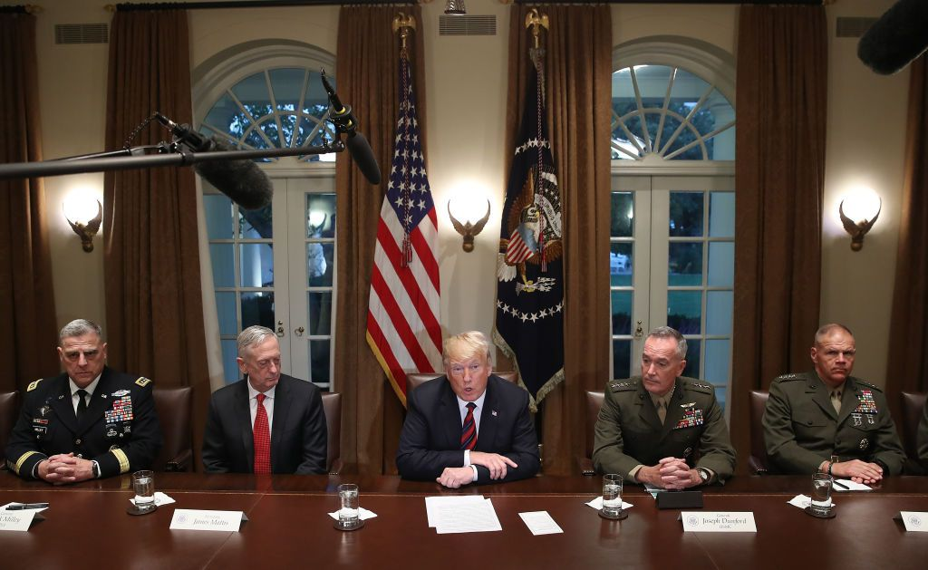 donald trump military spending