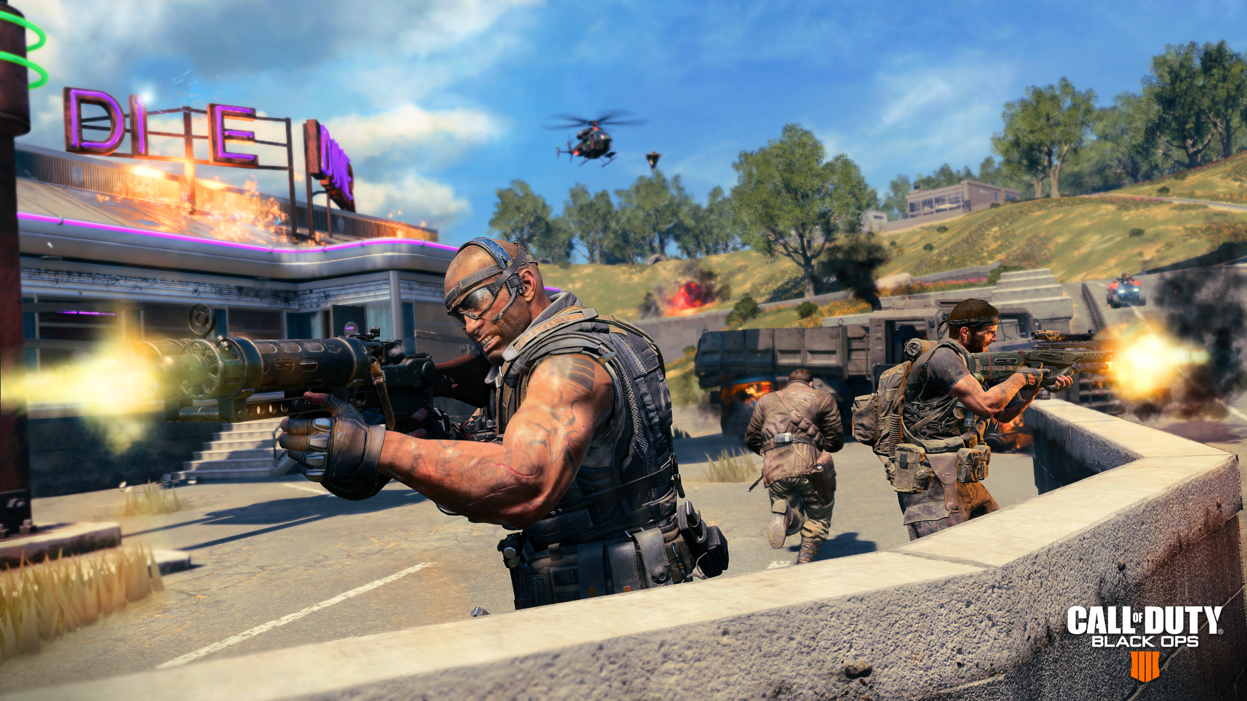 Call of Duty: Black Ops 4' Update 1 08 Adds Camos & Zombies