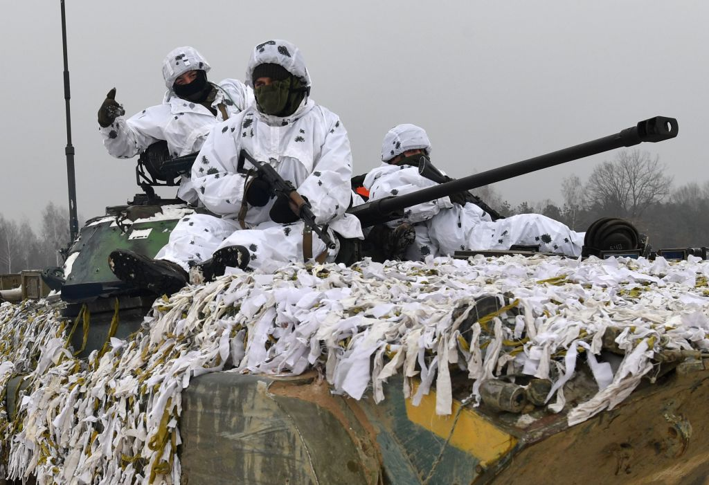 russia, and, ukraine, troops, border, invasion